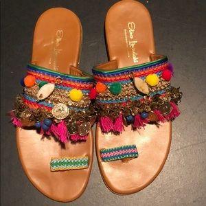 Elina Linardaki sandals, size 38